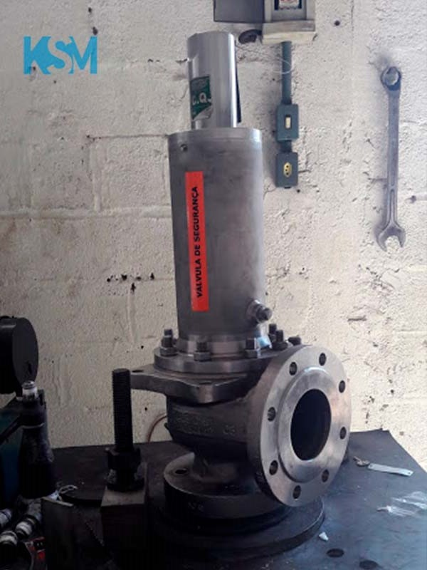Empresas de manutenção de válvulas de segurança
